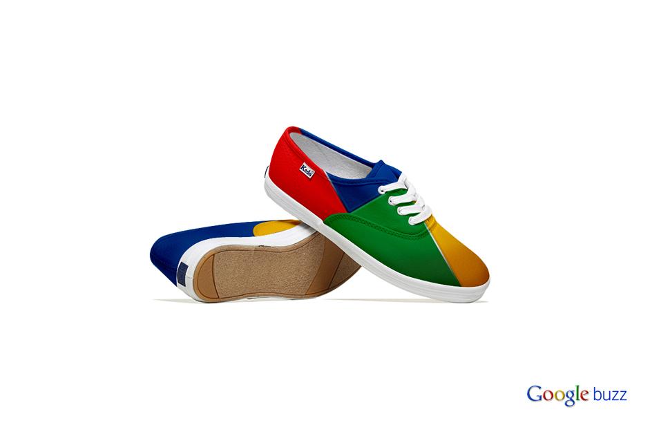 *Lumen Bigott設計的社群網站聯名鞋:Keds & Social Media 5